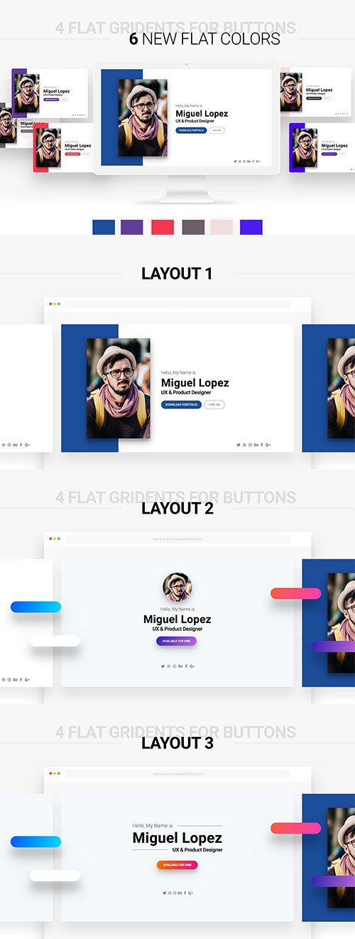 Personal Website for Multi-Purpose - CM 1274383