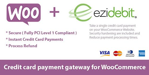CodeCanyon - WooCommerce Ezidebit Gateway v1.0 - 19241334