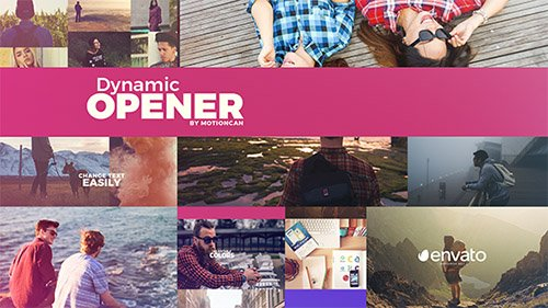 Dynamic Opener 19622485 - Project for After Effects (Videohive)