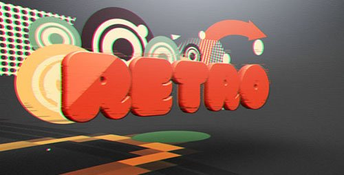 Retro Glitch Reveal - Project for After Effects (Videohive)