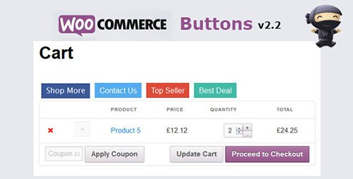 CodeCanyon - WooCommerce Buttons v2.5 - Shop More, Contact Us etc - 7112841
