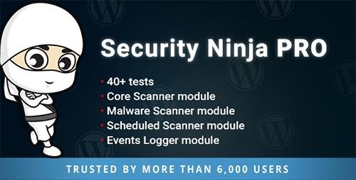 CodeCanyon - Security Ninja PRO v5.0 - 19015927 - NULLED