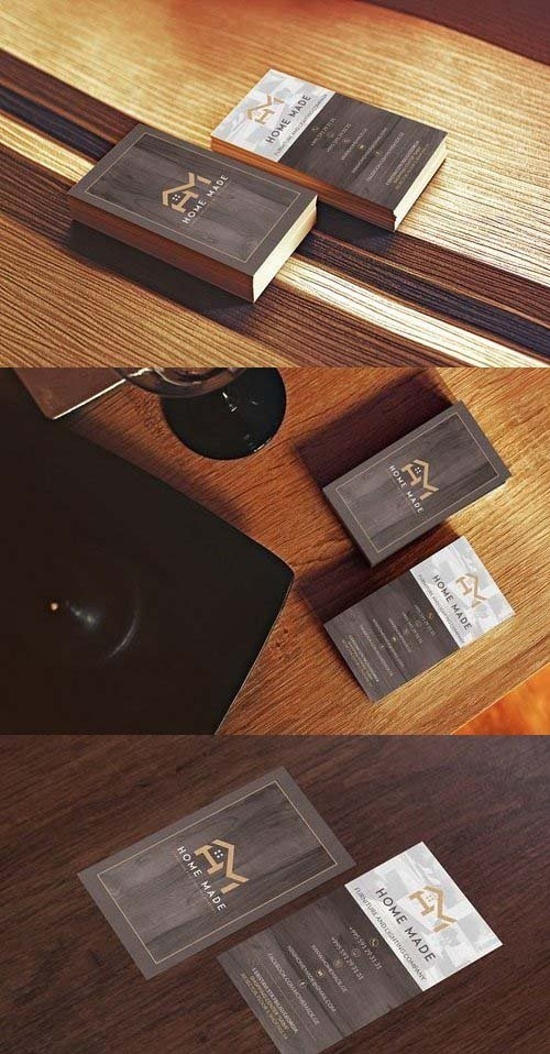 Wooden Business Card 1