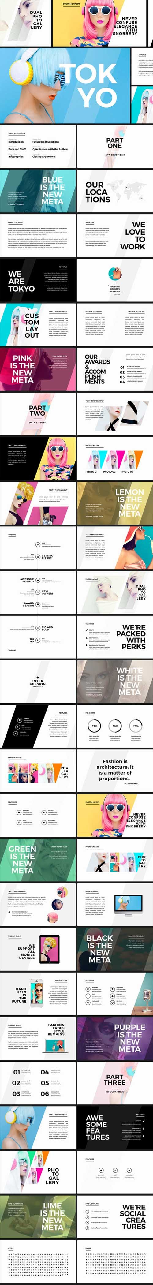 Tokyo - Creative PowerPoint Template 17666020