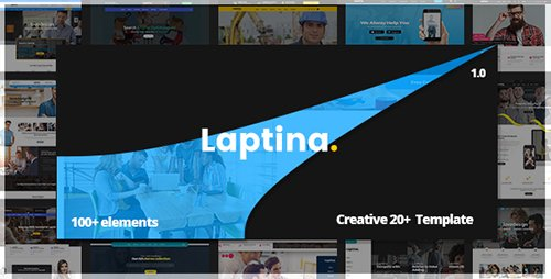 ThemeForest - Laptina v1.0 - Multi-Purpose Business & Financial Professional, Consulting PSD Template - 19512885