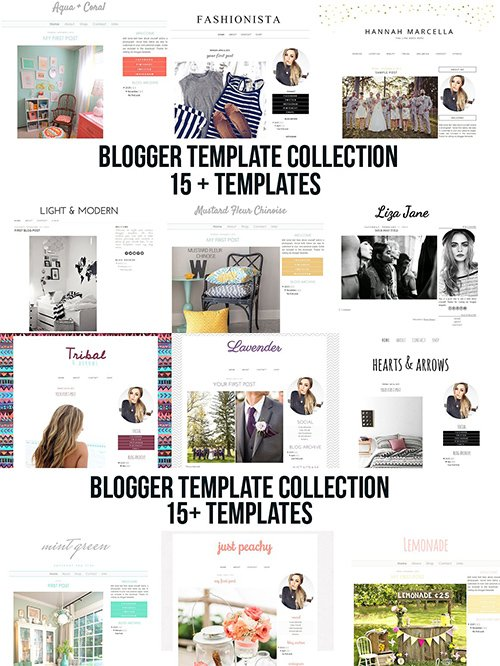 blogger blogspot template collection - CM 1592932
