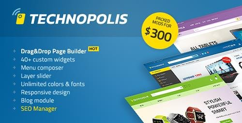 ThemeForest - Technopolis v1.1.6 - Electronics Store OpenCart Theme - 17378503