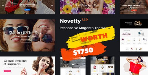 ThemeForest - Novetty v1.3.3 - Fastest & Most Customizable Magento 2 Theme - 18197526