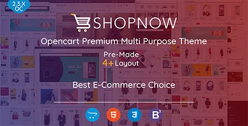 ThemeForest - Shopnow v1.0 - Premium Multi Purpose Theme - 19889111