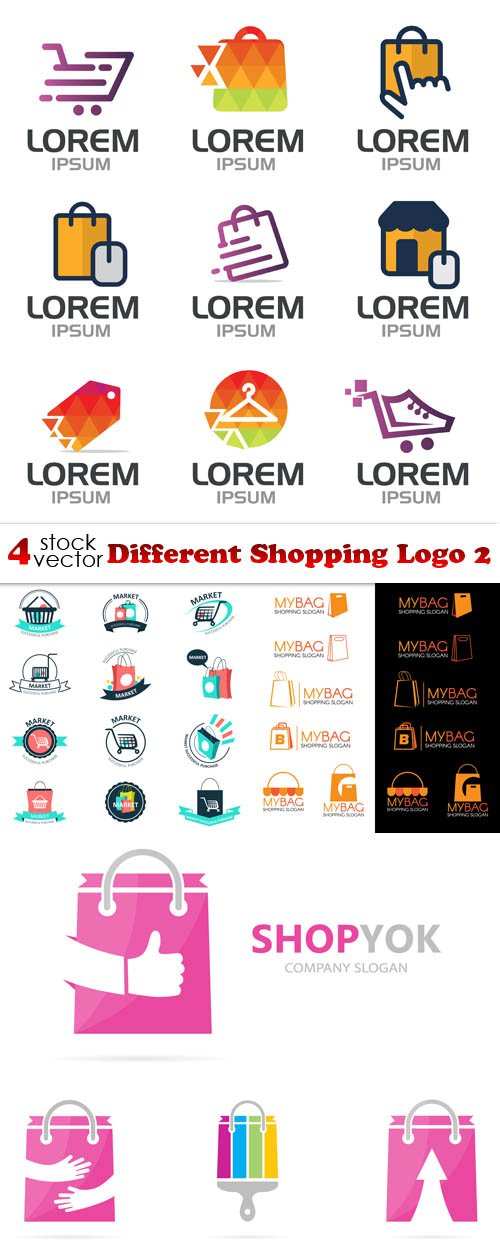 Vectors - Different Shopping Logo 2