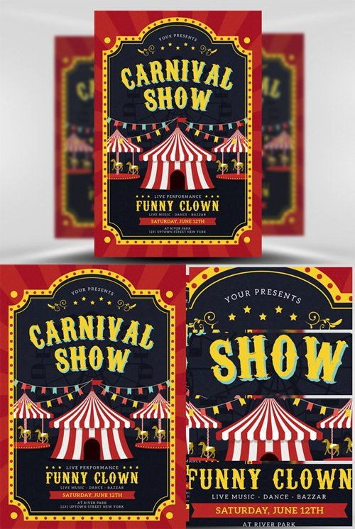 Flyer Template - Carnival Show