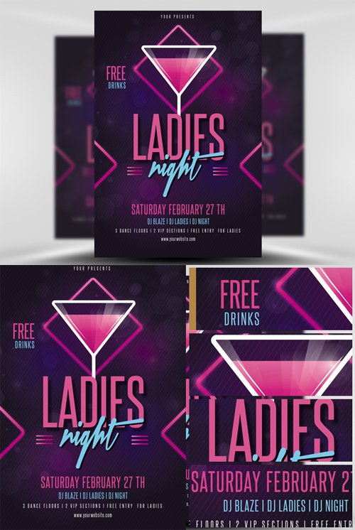Flyer Template - Ladies Night v2