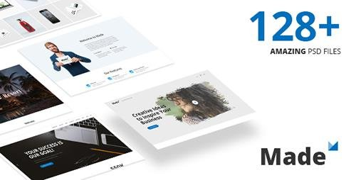 ThemeForest - Made v1.0 - Responsive Multi-Purpose PSD Template - 20128228