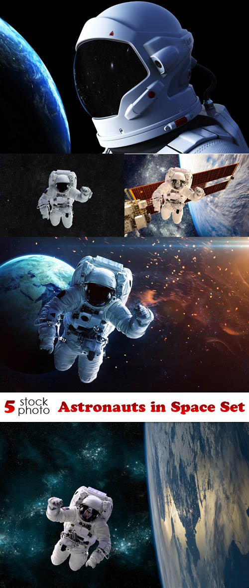 Photos - Astronauts in Space Set