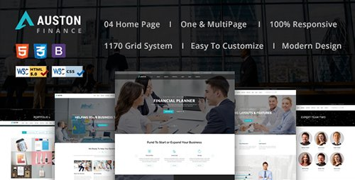 ThemeForest - Auston - Finance, Corporate and Consulting Business HTML5 Template (Update: 23 August 16) - 16964095