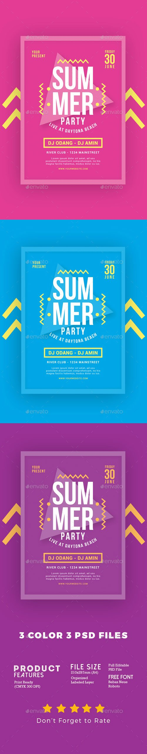 GR - Summer Party Flyer 20185877