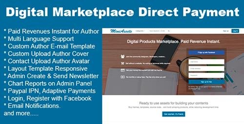 CodeCanyon - Digital Products Marketplace Direct Payment (Update: 25 September 15) - 12738993