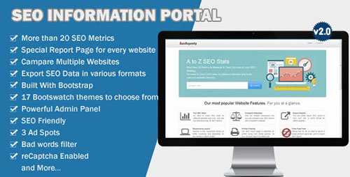CodeCanyon - SEO Information Portal v2.0 - 12641044