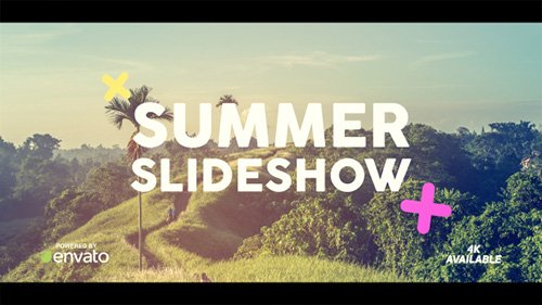 Summer Slideshow 20012418 - Project for After Effects (Videohive)