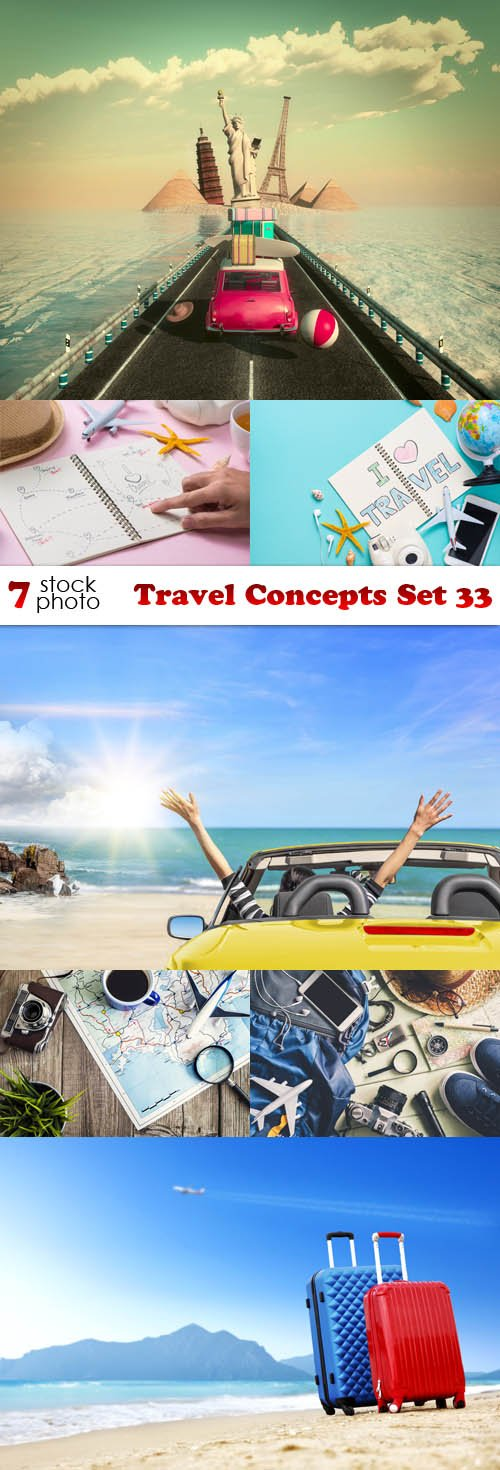 Photos - Travel Concepts Set 33