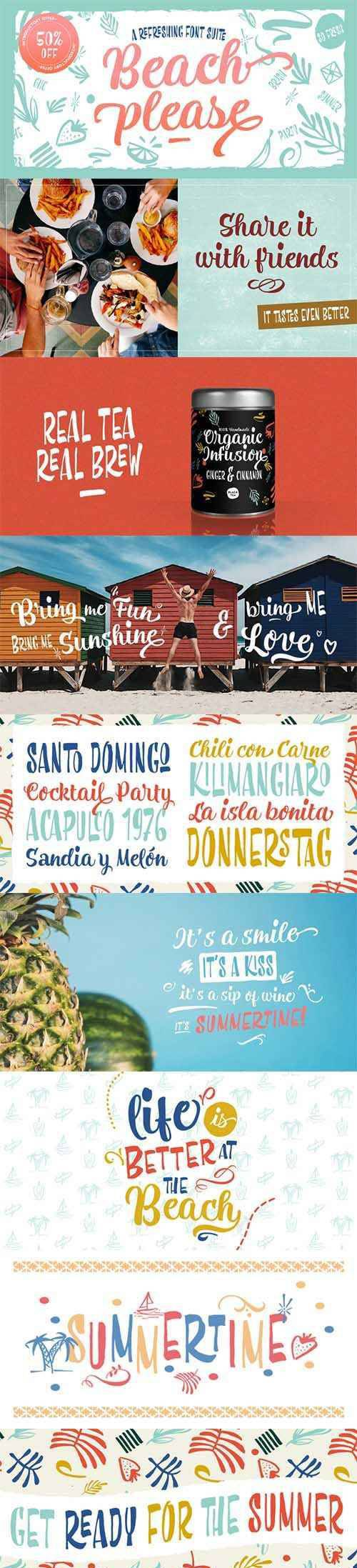 Beach Please Font Family