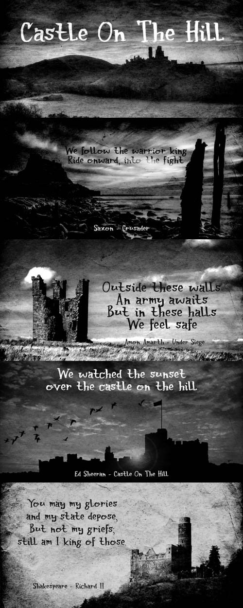 Castle On The Hill font family