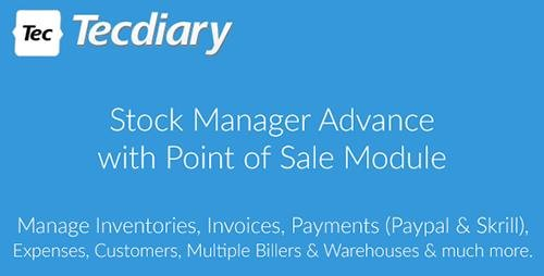 CodeCanyon - Stock Manager Advance with Point of Sale Module v3.2.2 - 5403161