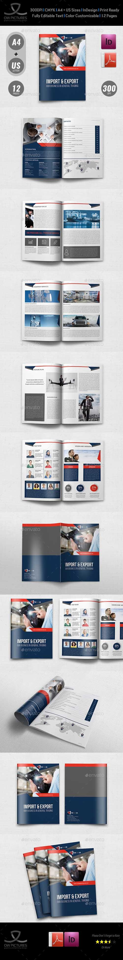 Graphicriver - Company Profile Brochure Template Vol.44 -12 Pages 20178644