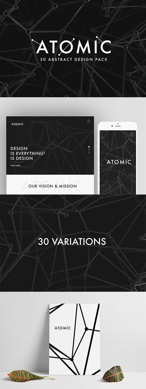 Atomic - 30 Abstract Design Pack
