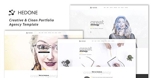 ThemeForest - Hedone - Creative & Clean Portfolio / Agency Template (Update: 5 March 17) - 19451908