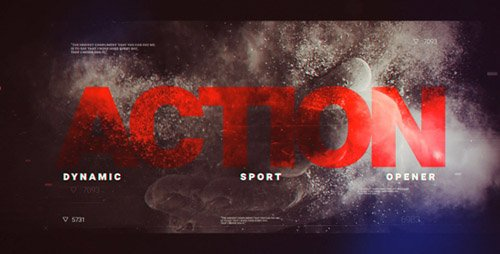 Dynamic Sport Opener 20198997 - Project for After Effects (Videohive)