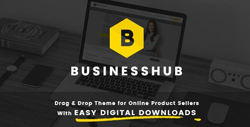ThemeForest - Business Hub v1.1.2 - Responsive WordPress Theme For Online Business - 14739401