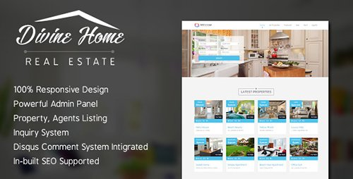 CodeCanyon - Divine Home v1.0.0 - Real Estate Portal - 14285521