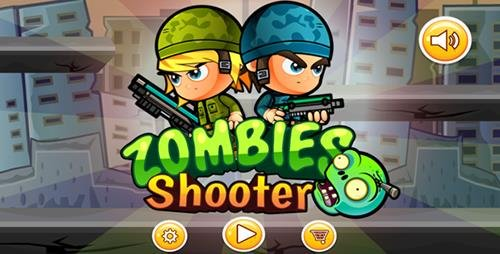 CodeCanyon - Zoombie Shooter v1.0 (Eclipse - Buildbox 2.2.6 - Google games - Admob) - 18899781