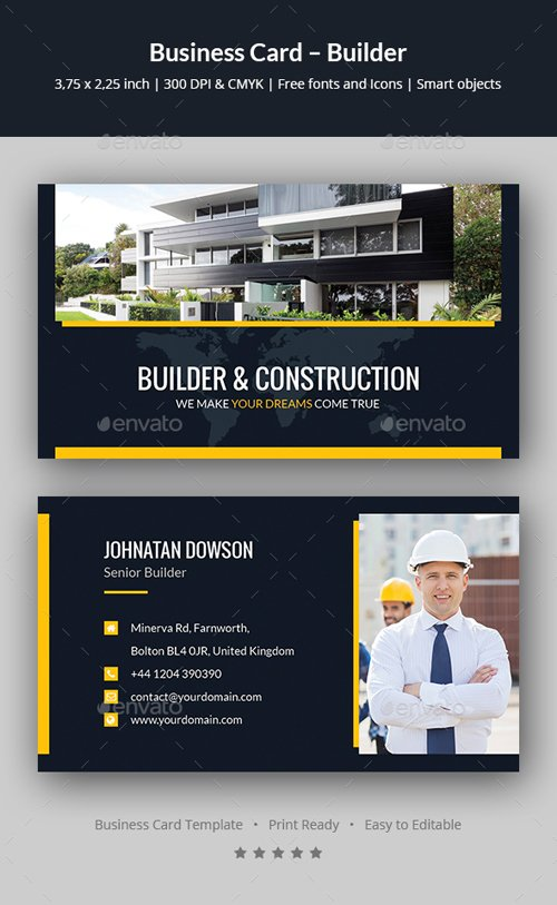 Business Card – Builder 20240706