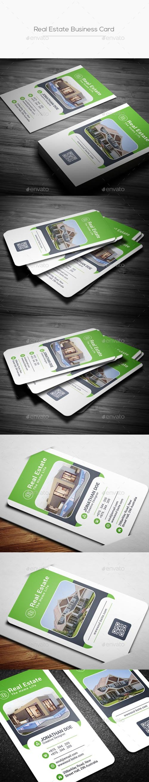 Real Estate Business Card 20215226