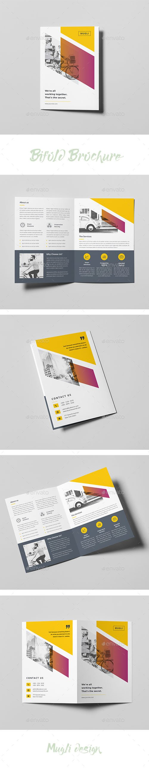 Graphicriver - Bifold Brochure 20184697