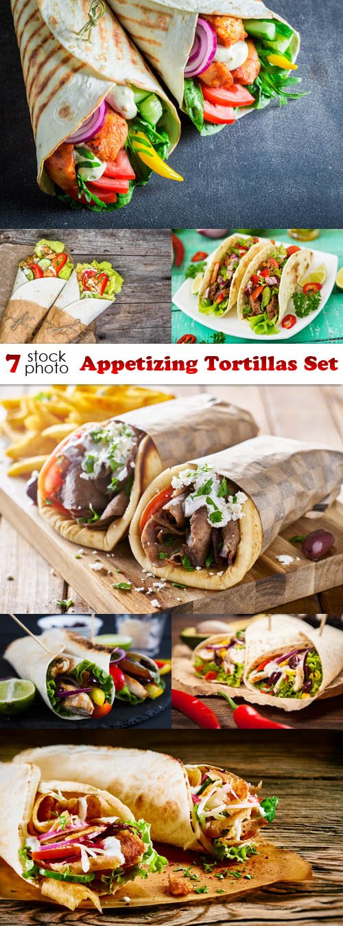 Photos - Appetizing Tortillas Set