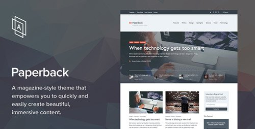 ThemeForest - Paperback v1.6.8 - Magazine WordPress Theme - 13511026