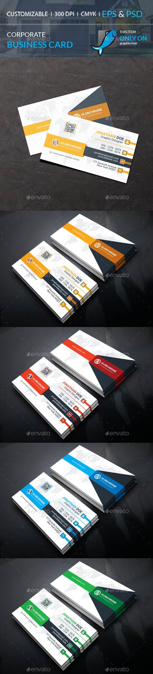 Graphicriver - Corporate Business Card 20191258