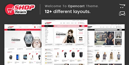 ThemeForest - Shop Town v1.0 - Multipurpose OpenCart Theme - 17914150