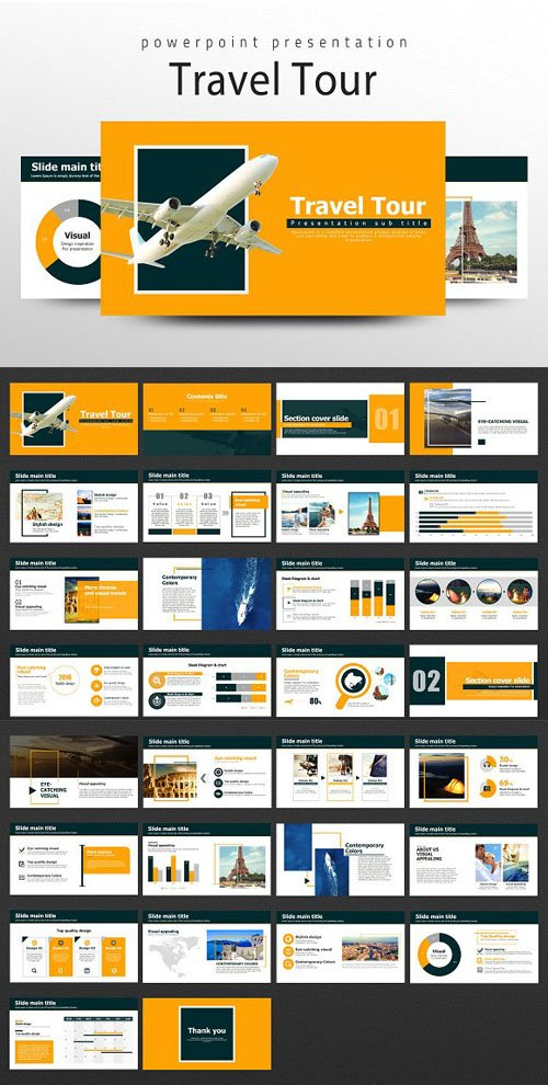 CM - Travel PPT Template 1632040