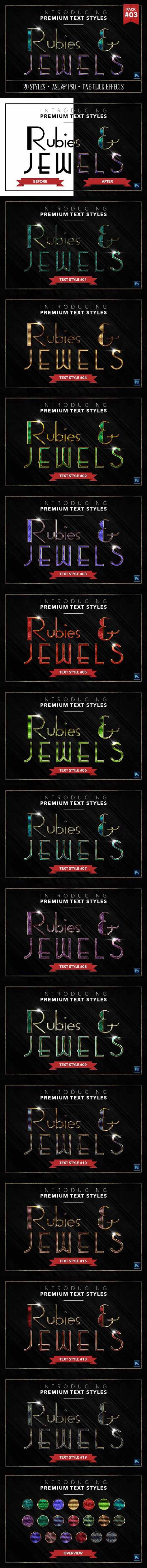 CM - Rubies & Jewels 3 - 20 Text Styles 1354440