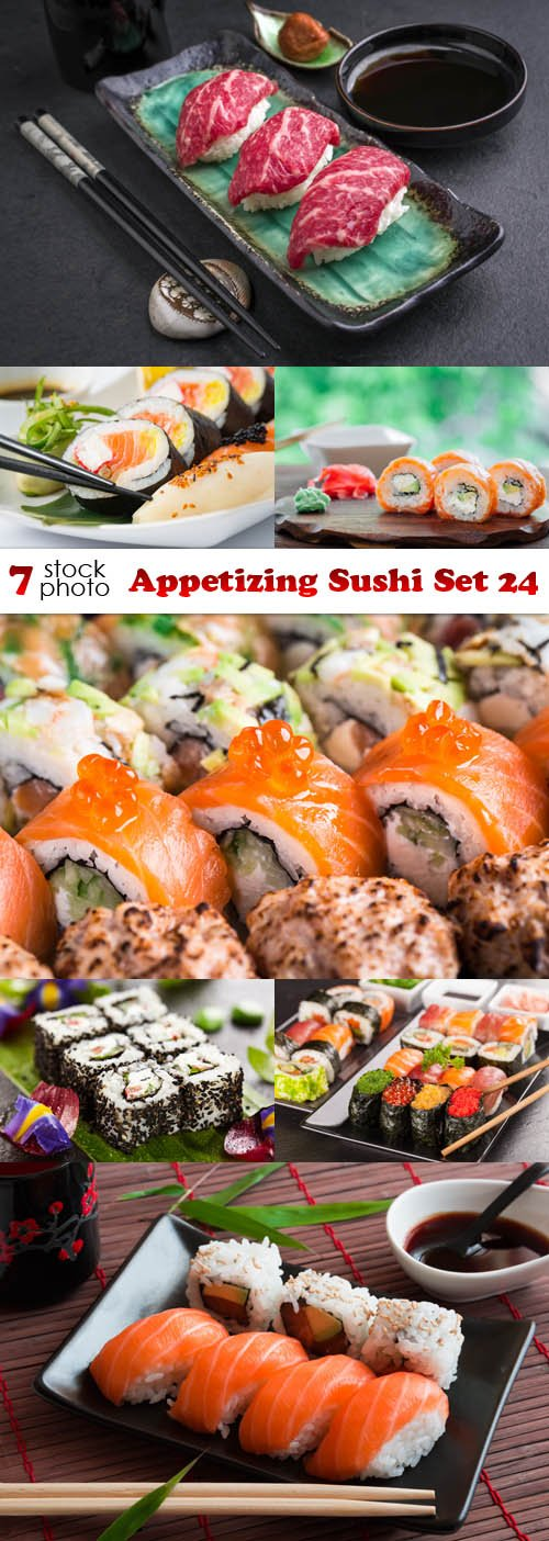 Photos - Appetizing Sushi Set 24