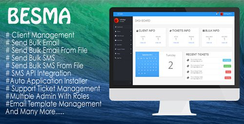 CodeCanyon - BESMA v1.0.5 - Bulk Email And SMS Marketing Application - 8785256