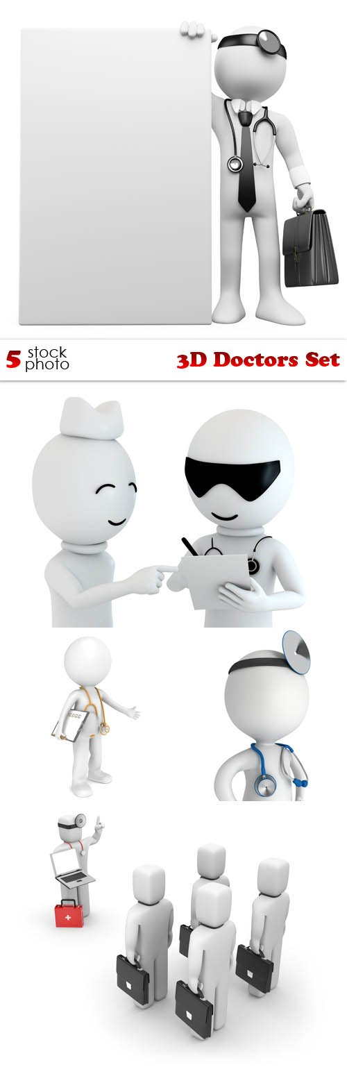 Photos - 3D Doctors Set