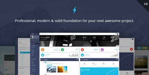 ThemeForest - ProUI v3.8 - Responsive Bootstrap Admin Template - 6769035