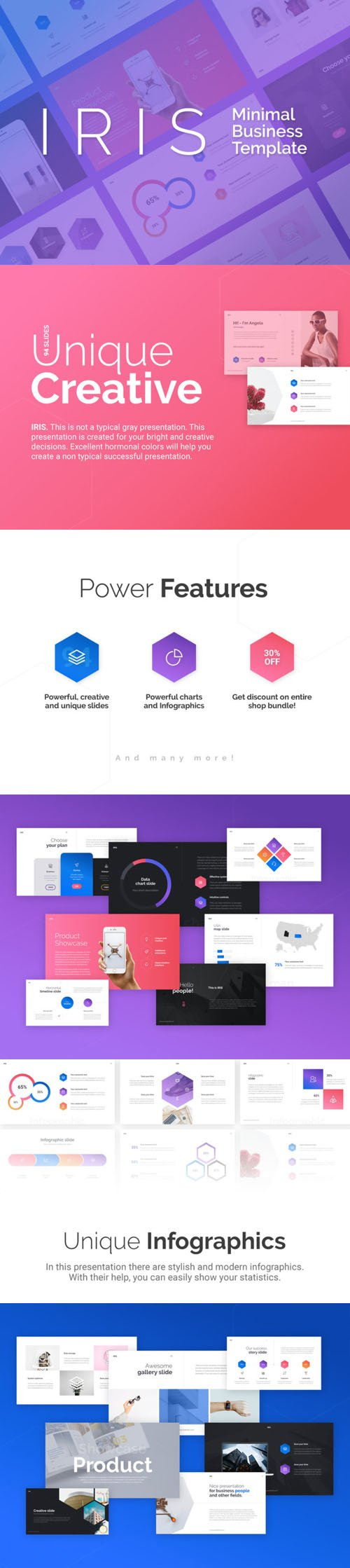 IRIS Keynote & PowerPoint Template
