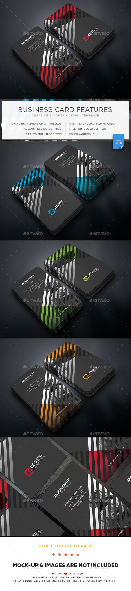 Graphicriver - Photography Business Card 20217576