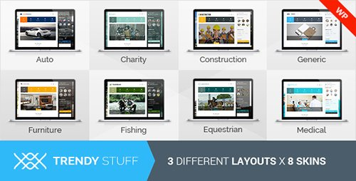 ThemeForest - TrendyStuff v1.5.1 - Multiconcept WordPress Theme - 10191228